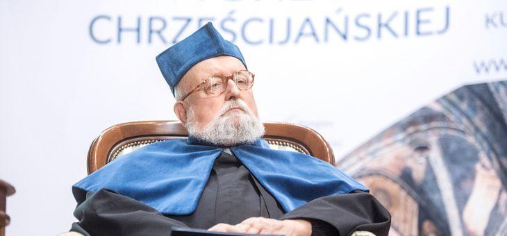 Jeszcze jedna galeria zdjęć z nadania tytułu doktora honoris causa Krzysztofowi Pendereckiemu zdjęcia  Fot. Tomasz Koryszko/KUL
