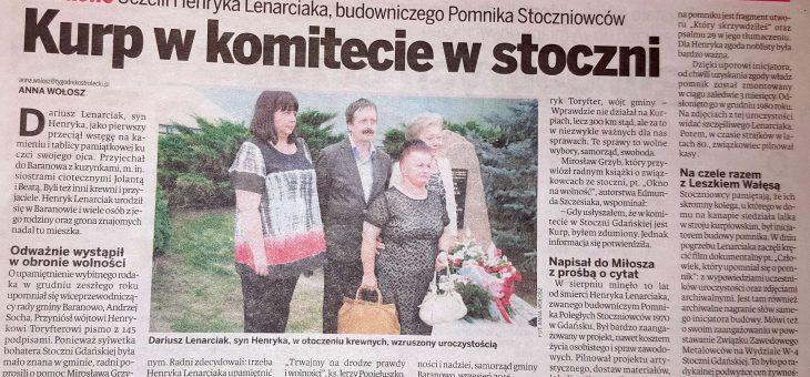 Upamiętnianie Henryka Lenarciaka