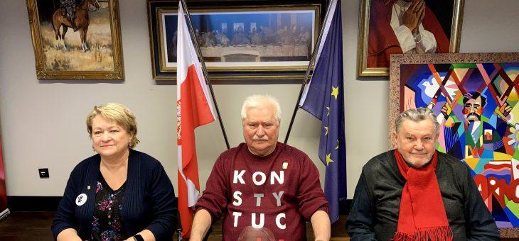 Spotkanie u Lecha Wałęsy